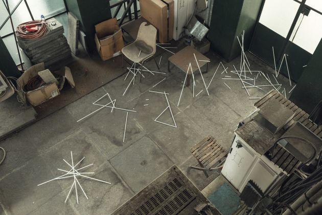 Alvaro Urbano, I, 2016, Installation view, Mole Antonelliana, courtesy dell'artista e Treti Galaxie. Foto Delfino Sisto Legnani