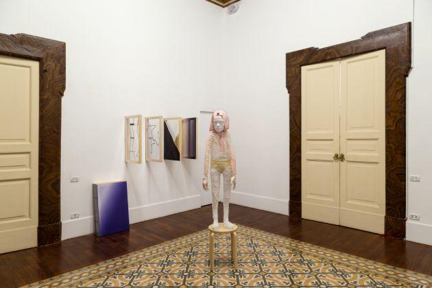 An Entertainment in Conversation and Verse. Exhibition view at Galleria Tiziana Di Caro, Napoli 2017