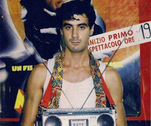 Andrea Pazienza, 1980. Photo Stefano Giraldi
