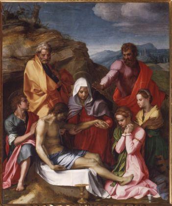 Andrea del Sarto, Compianto su Cristo morto (Pietà di Luco), 1523-24. Firenze, Gallerie degli Uffizi