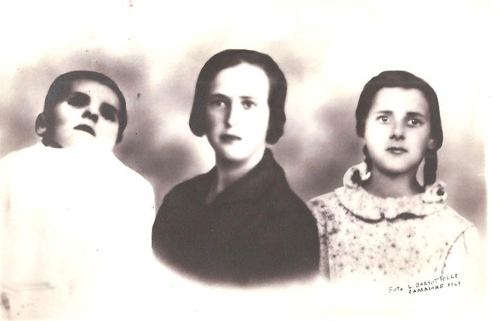 Anna, Bruna e Maria Pardini, tre vittime dell'eccidio di Sant'Anna