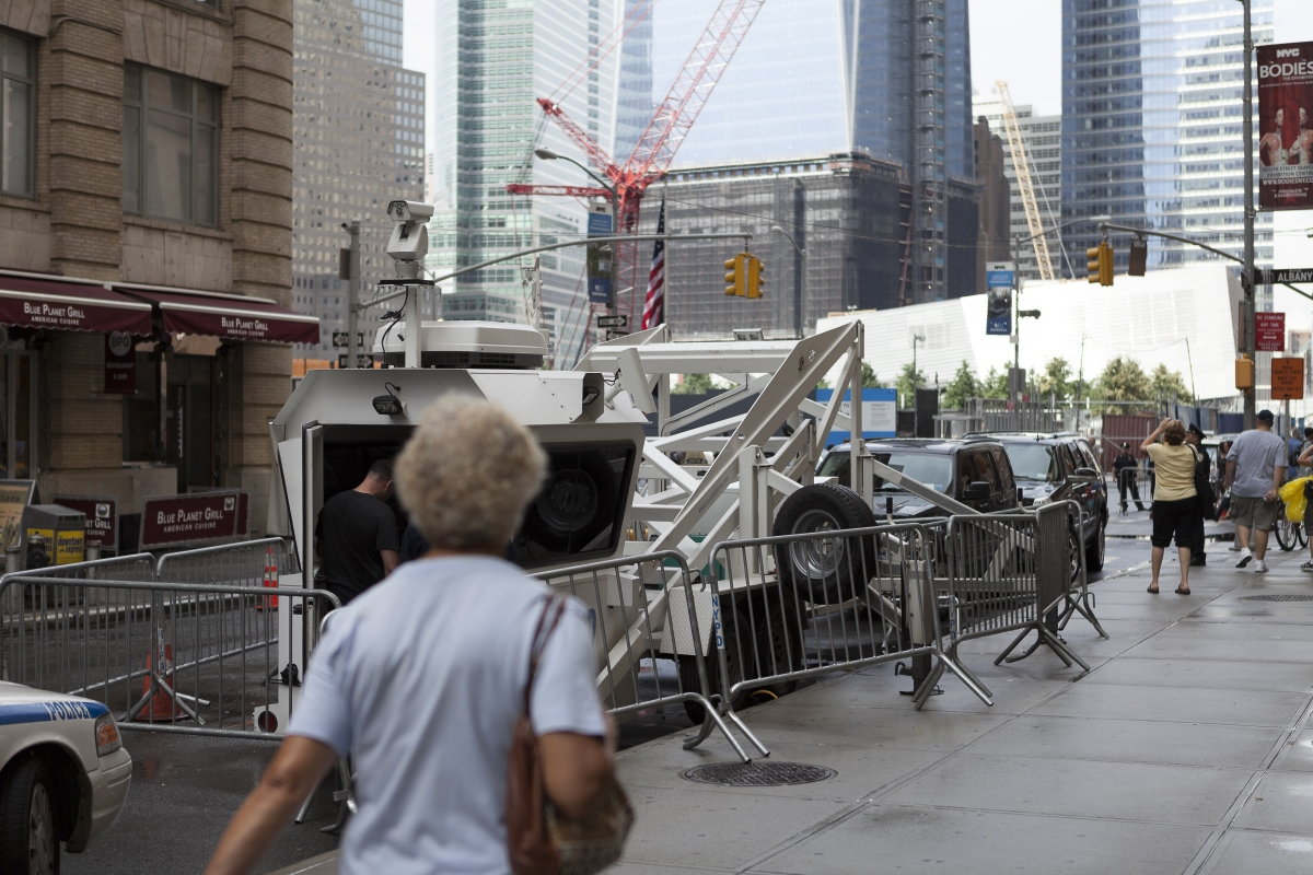 Antonio Ottomanelli, Financial District, New York. Sonic & Ultra Sonic Weapon