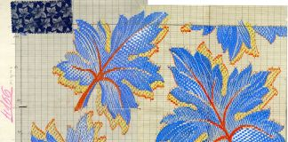 Antonio Ratti per tessitura serica Giovanni Canepa, Messa in carta, 1940. MuST, Fondazione Antonio Ratti, Como
