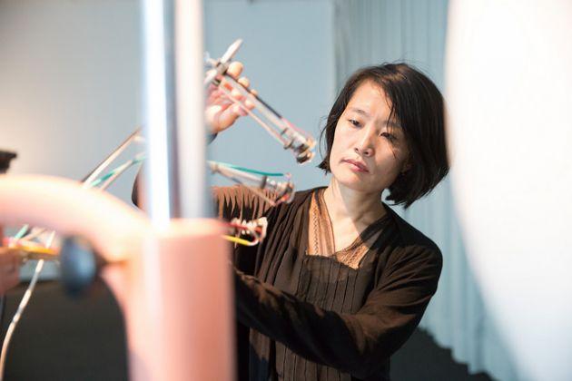 Ars Electronica 2017. Juri Hwang, Somatic Echo. Photo Tom Mesic
