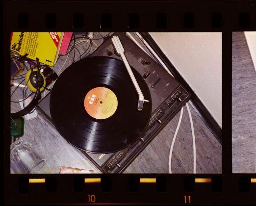 Arwed Messmer Stammheim # 12, 19772016 [Plattenspieler von Gudrun Ensslin] aus RAF ÔÇô NO EVIDENCE KEIN BEWEIS, ® Arwed Messmer using a photograph from State Archives of Baden W++rttemberg (1200x966)