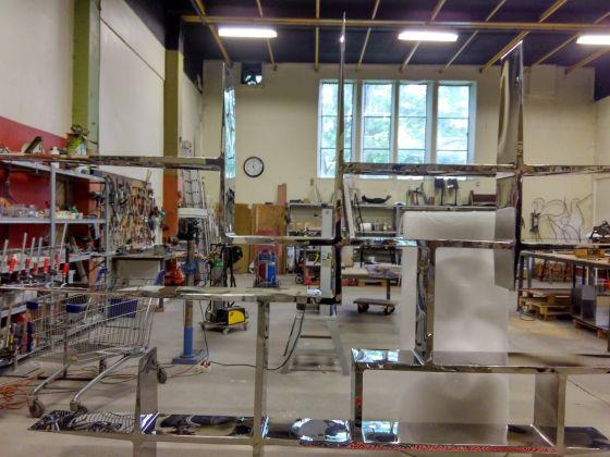 Atelier Pol Quadens, Bruxelles, photo Giorgia Losio