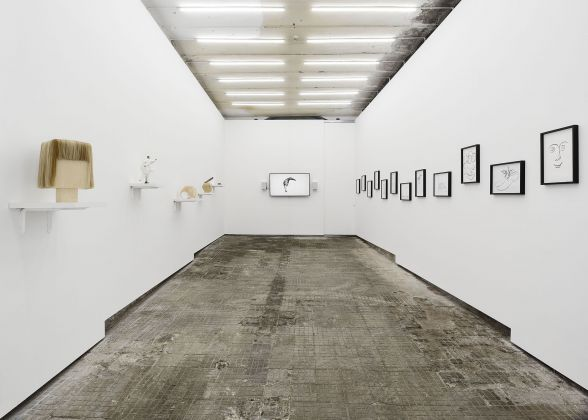 Bedwyr Williams, Huuuuuuge Thanks! Installation view at Frutta Gallery, Roma 2017
