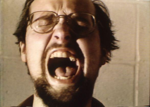 Bill Viola, The Space Between the Teeth, from Four Songs, 1976, still da video, courtesy Bill Viola Studio © Bill Viola, photo Kira Perov