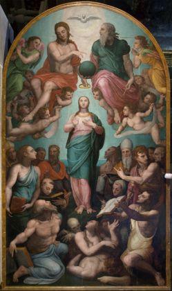 Bronzino, Immacolata Concezione, 1570-72. Firenze, Chiesa di Santa Maria Regina della Pace