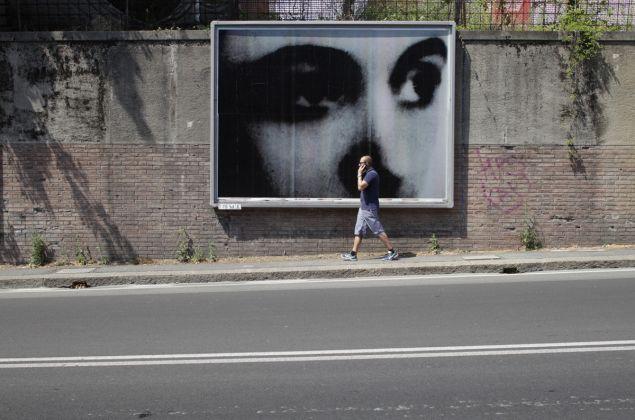 Christian Boltanski. Billboards, Bologna 2017. Photo credit Matteo Monti. Courtesy Istituzione Bologna Musei