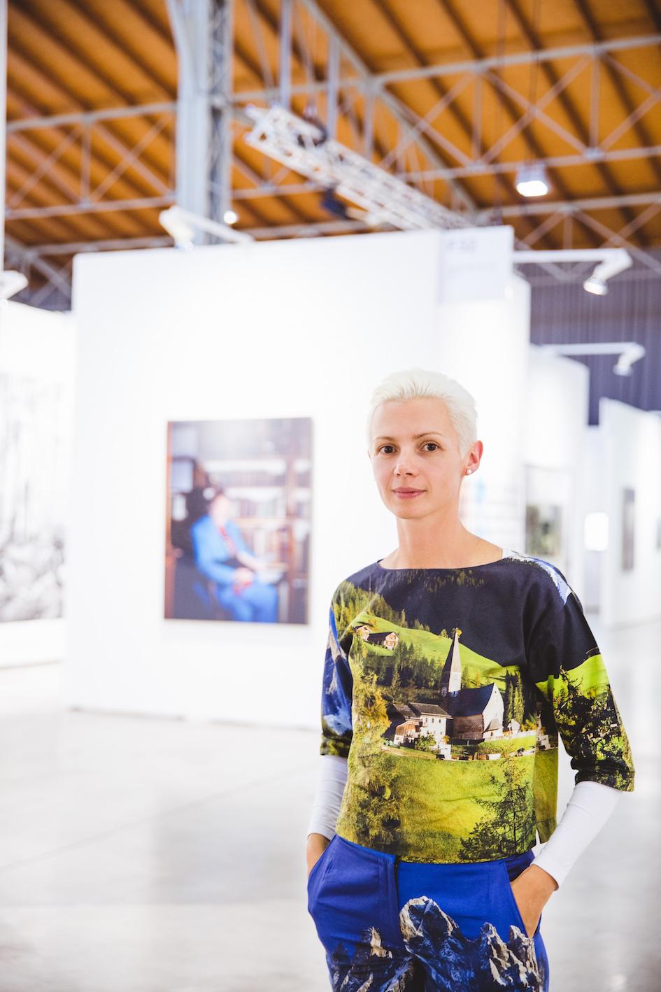 Christina Steibrecher Pfandt. Photo © A. Murahskin ⁄ viennacontemporary