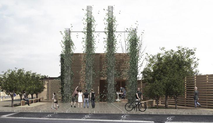 Co housing e piazza pubblica a Casal di Principe. Master NIB ArchitetturaAmbiente. Martina Malvone