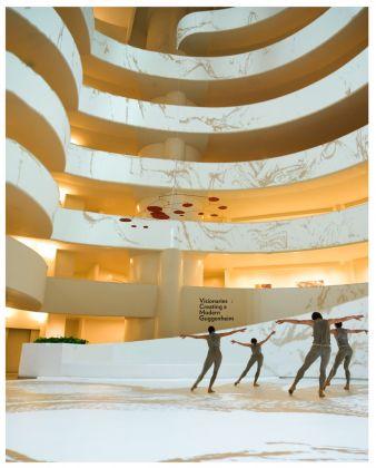 Daniil Simkin, Falls the Shadow. Solomon R. Guggenheim Musem, New York 2017