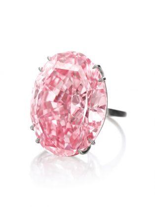 Diamante CTF Pink Star. Courtesy Sotheby's