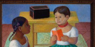 Diego Rivera, Pico e Inesita, 1928, Óleo sobre tela, Colección particular en comodato, Museo Nacional de Arte