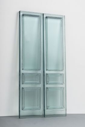 Rachel Whiteread, Due Porte 2016 Resin 2470 x 1240 x 80 mm Galleria Lorcan O'Neill, Rome Photograph courtesy of Galleria Lorcan O'Neill, Rome © Rachel Whiteread