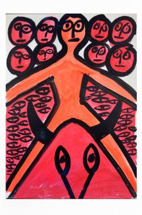 Edoardo De Candia, Senza titolo, anni '70. Collezione Diurisi, San Cesario di Lecce