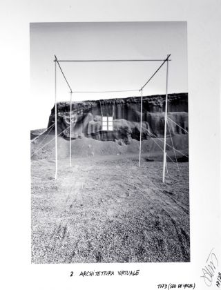 Ettore Sottsass, Architettura Virtuale, 1973