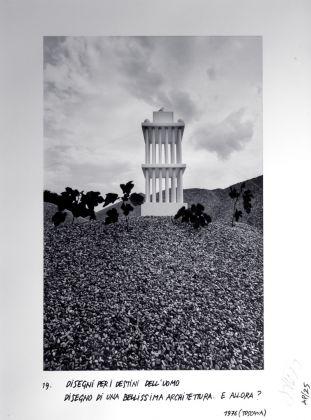 Ettore Sottsass, Disegni per i destini dell'uomo. Disegno di una bellissima architettura, 1976