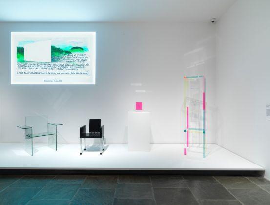 Ettore Sottsass. Design Radical. Exhibition view at MET Breuer, New York 2017. Courtesy The Metropolitan Museum of Art. Photo Anna Marie Kellen