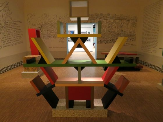 Ettore Sottsass. There is a Planet. Exhibition view at Triennale Design Museum, Milano 2017