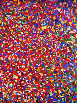 Fahrelnissa Zeid, Problemi risolti, 1948. Olio su tela, 130 x 97 cm. Istanbul Museum of Modern Art. Eczacıbaşı Group Donation (Istanbul). © Raad Zeid Al Hussein. Courtesy Tate, Londra