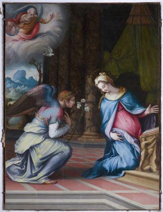 Francesco Salviati, Annunciazione, 1534 ca. Roma, Chiesa di San Francesco a Ripa