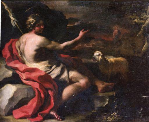 Francesco Solimena, San Giovanni Battista nel deserto. Ascoli Piceno, Pinacoteca Civica