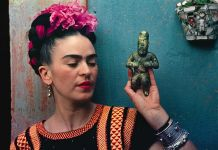 NYBG Frida Kahlo figurine photo by Nickolas Muray