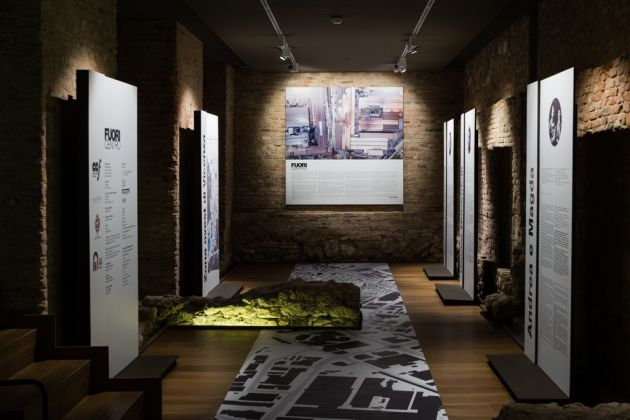 FuoriCentro. Exhibition view at Palazzo Chiericati, Vicenza 2017