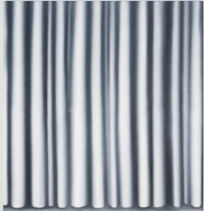 Gerhard Richter, Curtain IV, 1965, Oil on canvas, 200 cm x 190 cm, Kunstmuseum Bonn, Photo David Ertl