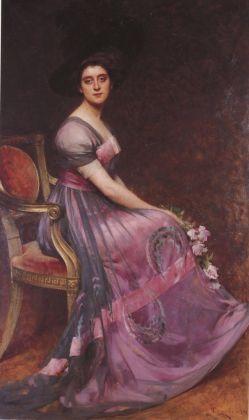 Giacomo Grosso, Ritratto della figlia. Ascoli Piceno, Pinacoteca Civica