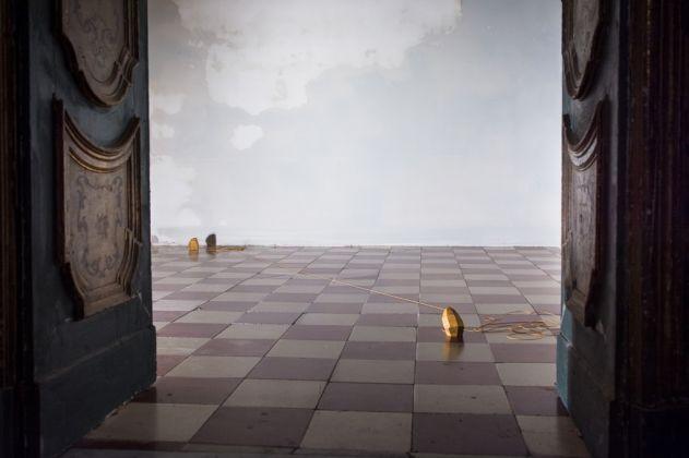 Gianni Caravaggio, Tessitori di albe, 2011. Photo Letizia Gatti