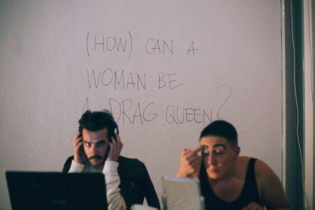 Giorgia De Santi, (How) Can a Woman be a Drag Queen?, Viafarini, Milano 2017. Photo Caterina Ragg