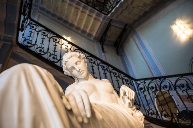 Giovanni Duprè, Saffo abbandonata, particolare. La Galleria Nazionale, Roma