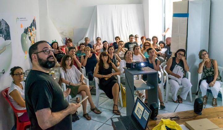 Giovanni Giacoia e Giuseppe Giacoia, presentazione del progetto (T)here-A Cielo Aperto 2017