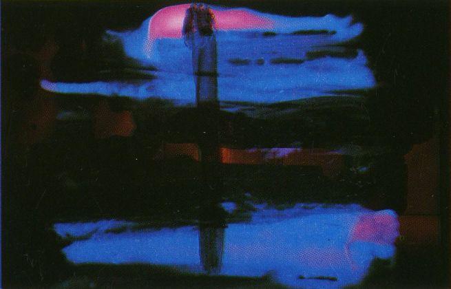 Giuseppe Del Franco, Dominante blu, 1990