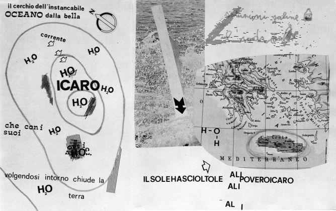Giuseppe Del Franco, Icaro, 1969