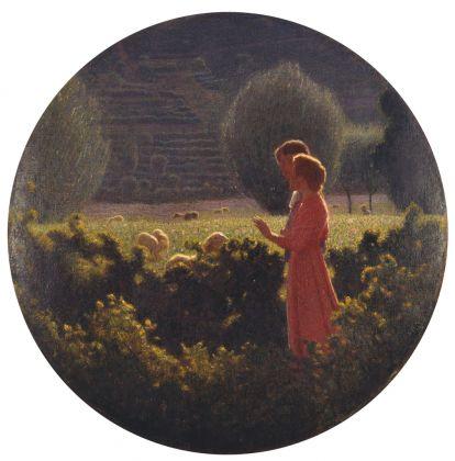 Giuseppe Pellizza da Volpedo, Passeggiata amorosa. Ascoli Piceno, Pinacoteca Civica