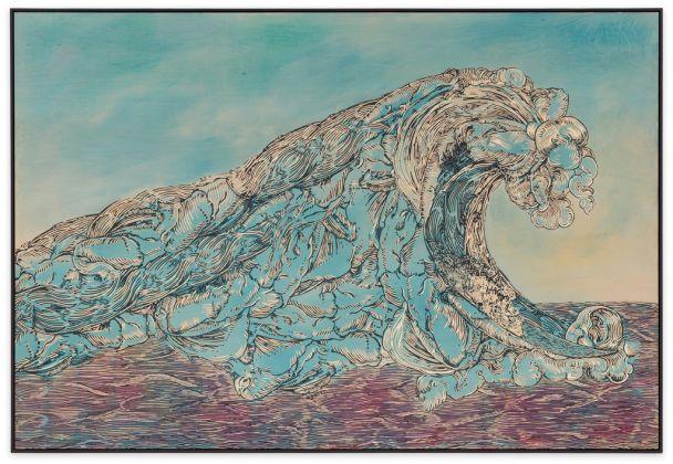 Hans Weigand, Welle aus dem 16. Jh, 2015, Courtesy of Gabriele Senn Galerie Wien, Photo Iris Ranzinger