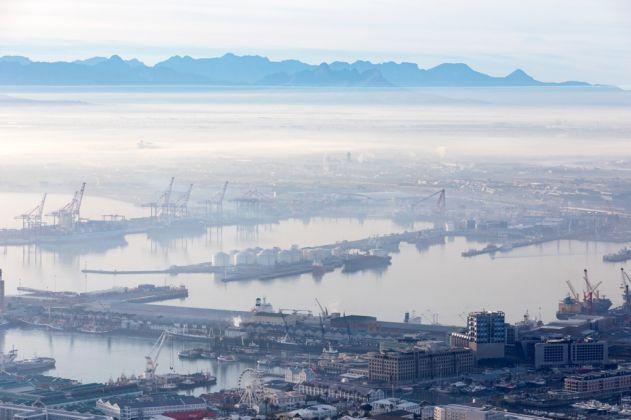 Heatherwick Studio, Zeitz MOCAA, Cape Town. Harbour view. Photo Iwan Baan