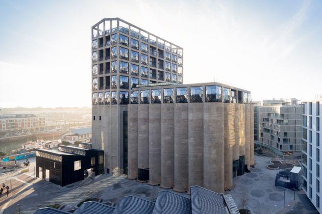 Heatherwick Studio, Zeitz MOCAA, Cape Town. Silo Square. Photo Iwan Baan