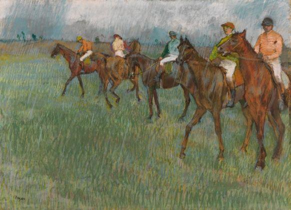 Jockeys in the Rain, about 1883-86
