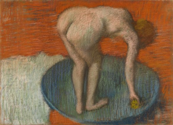 Woman in a Tub, about 1896- 1901