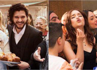 I due spot per il profumo The One di Dolce & Gabbana, con i protagonisti di Game of Thrones. Ph. by myredcarpet.eu
