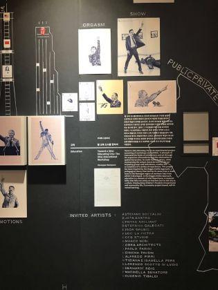 L'intervento di Giuseppe Stampone alla Biennale di Seul