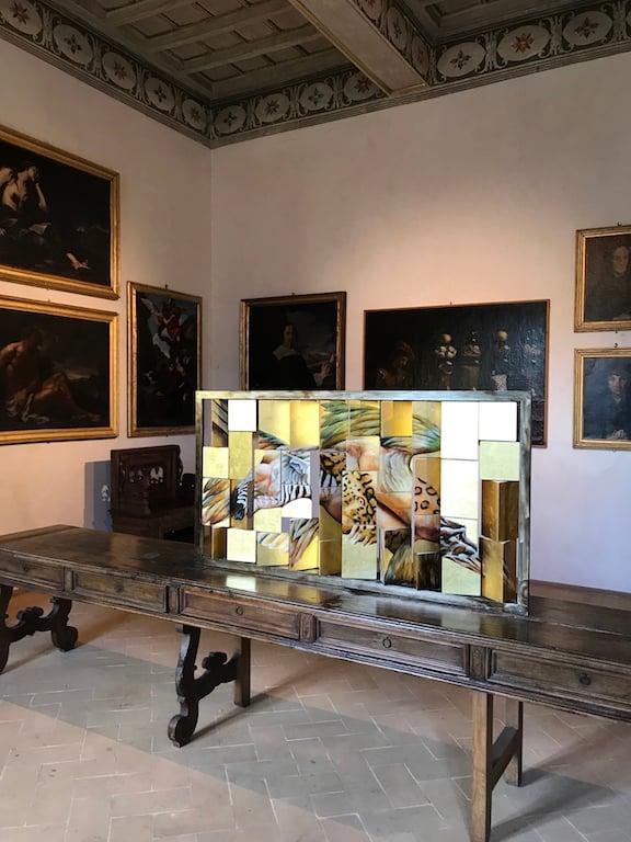 Mostre e interventi a Palazzo Collicola, Spoleto