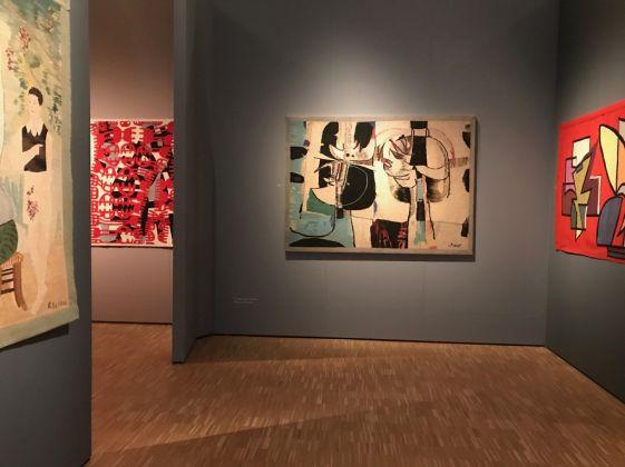 Intrecci del Novecento. Exhibition view at La Triennale di Milano, 2017