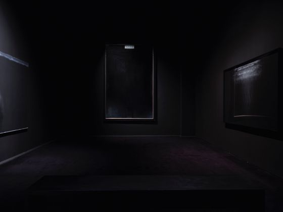 Intuition. Exhibition view at Palazzo Fortuny, Venezia 2017. Black room. Photo © Jean Pierre Gabriel