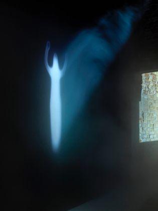 Intuition. Exhibition view at Palazzo Fortuny, Venezia 2017. Kurt Ralske & Ann Veronica Janssens. Photo © Jean Pierre Gabriel